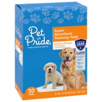 Pet Pride® Super Absorbent Training Pads 50 Count