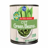 Kroger® No Salt Added Cut Green Beans