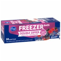 Kroger® Double Zipper Quart Freezer Bags