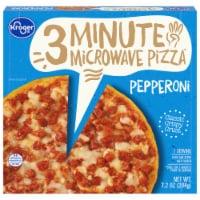 Kroger® 3 Minute Microwave Pepperoni Pizza - 7.2 oz