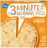 Kroger 3 Minute Microwave Cheese Pizza