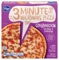 Kroger®  Combination Sausage & Pepperoni 3 Minute Microwave Pizza