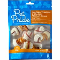 Pet Pride™ Pork Beef & Chicken Medium Bones