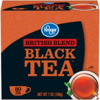 Kroger® British Blend Black Tea Bags 80 Count