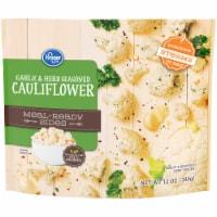 Kroger® Meal-Ready Sides Garlic & Herb Seasoned Cauliflower