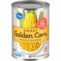 Kroger® No Salt Added Sweet Golden Whole Kernel Corn