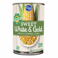 Kroger® Sweet White & Gold Whole Kernel Corn