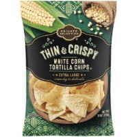 Private Selection® Thin & Crispy Extra Large White Corn Tortilla Chips