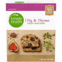 Simple Truth™ Fig & Thyme Crisp Crackers