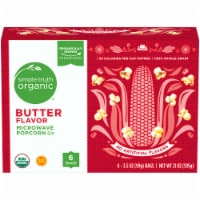 Simple Truth Organic™ Butter Flavor Microwave Popcorn