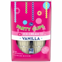 Kroger® Vanilla Ice Cream Party Cups 12 Count