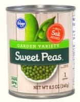 Kroger® No Salt Added Garden Variety Sweet Peas - 8.5 oz