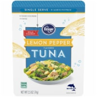 Kroger® Wild Caught Lemon Pepper Flavored Tuna Pouch
