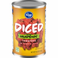 Kroger® Diced Tomatoes with Jalapenos