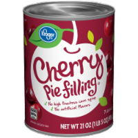 Kroger® Cherry Pie Filling - 21 oz