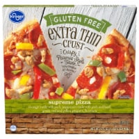 Kroger® Gluten Free Extra Thin Crust Supreme Pizza