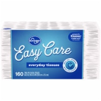 Kroger® White Unscented Facial Tissues Box