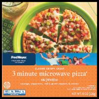 Ralphs Fred Meyer 3 Minute Microwave Supreme Pizza 8 Oz