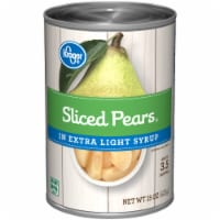 Kroger® Sliced Pears in Extra Light Syrup - 15 oz