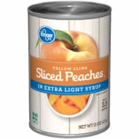 Kroger® Yellow Cling Sliced Peaches in Extra Light Syrup