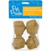 Pet Pride® Chicken Flavored Beefhide Dog Bones