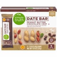 Simple Truth™ Peanut Butter Chocolate Chip Date Bars 5 Count