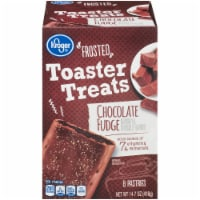 Kroger® Frosted Chocolate Fudge Toaster Treats 8 Count