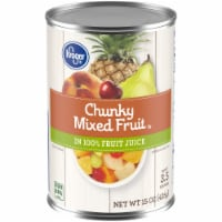 Kroger® Chunky Mixed Fruit in 100% Fruit Juice