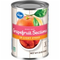 Kroger® Ruby Red Grapefruit Sections in Light Syrup - 15 oz