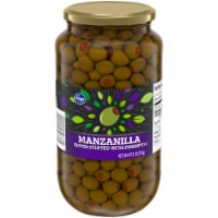 Kroger®  Manzanilla Olives Stuffed with Pimiento Jar