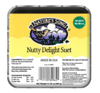 Nature's Song Nutty Delight Suet