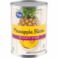 Kroger® Pineapple Slices in Heavy Syrup