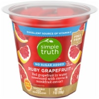 Simple Truth™ No Sugar Added Ruby Grapefruit Fruit Cup