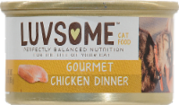 Luvsome™ Gourmet Chicken Dinner Cat Food