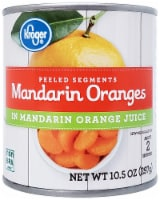 Kroger® Mandarin Orange Segments in Juice - 10.5 oz