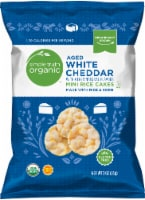 Simple Truth Organic™ Aged White Cheddar Mini Rice Cakes