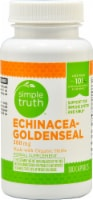 Simple Truth™ Echinacea Goldenseal Capsules 380 mg
