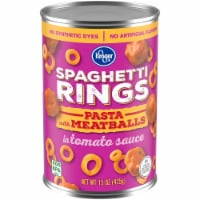 Kroger® Spaghetti Rings Pasta with Meatballs