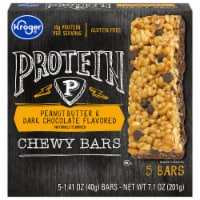 Kroger® Peanut Butter & Dark Chocolate Flavored Protein Chewy Bars