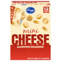 Kroger® Mini Cheese Sandwich Crackers