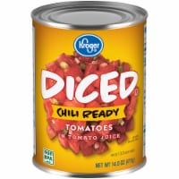 Kroger Chili Ready Diced Tomatoes