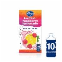 Kroger® Refresh Raspberry Lemonade Sugar Free Drink Mix Packets 10 Count