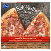 Kroger® Self Rising Crust Double Bacon Pizza