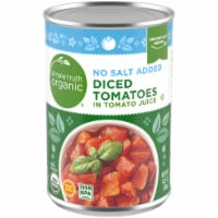 Simple Truth Organic™ No Salt Added Diced Tomatoes In Tomato Juice