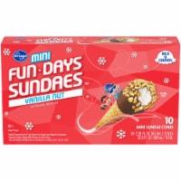 Kroger® Mini Fun Days Sundaes™ Vanilla Cones - 10 ct / 2.25 fl oz