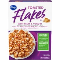 Kroger® Whole Grain Toasted Flakes with Fruits & Yogurt Cereal
