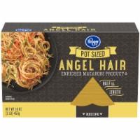 Kroger® Pot Ready Angel Hair Pasta - 16 oz