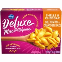 Kroger® Deluxe Shells & Cheddar Mac & Cheese - 12 oz