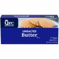 QFC Unsalted Butter - 16 oz