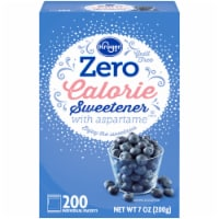 Kroger® Zero Calorie Sweetener with Aspartame Packets 200 Count